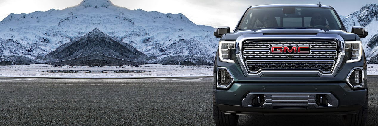 The 2019 GMC Sierra 1500 light-duty pickup truck.
