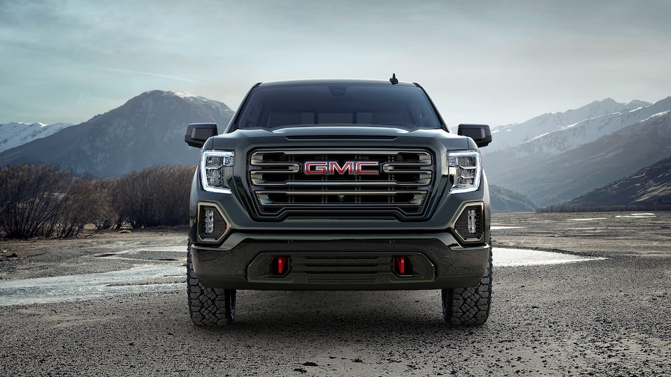 2019 GMC Sierra AT4 pickup truck.