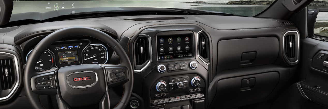 2019 GMC Sierra 1500 AT4 | Interior Features | GMC Canada