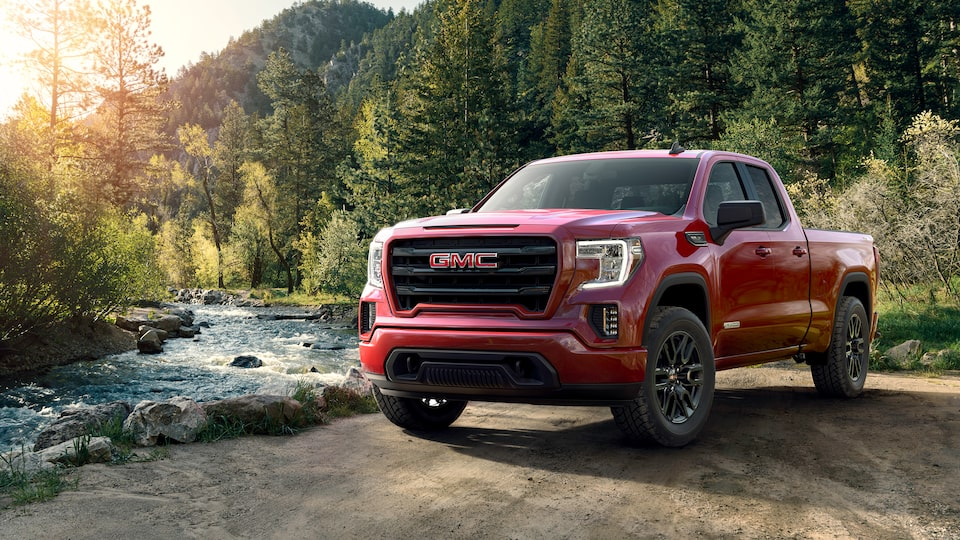 Exterior of the 2019 GMC Sierra Elevation.