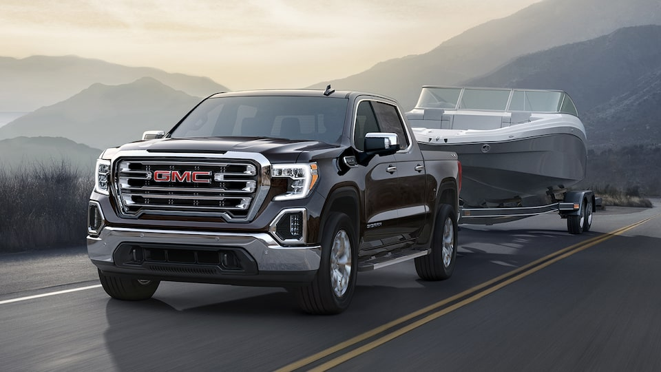 The GMC Sierra 1500 comes with an available 5.3L V8 engine with Dynamic Fuel Management.