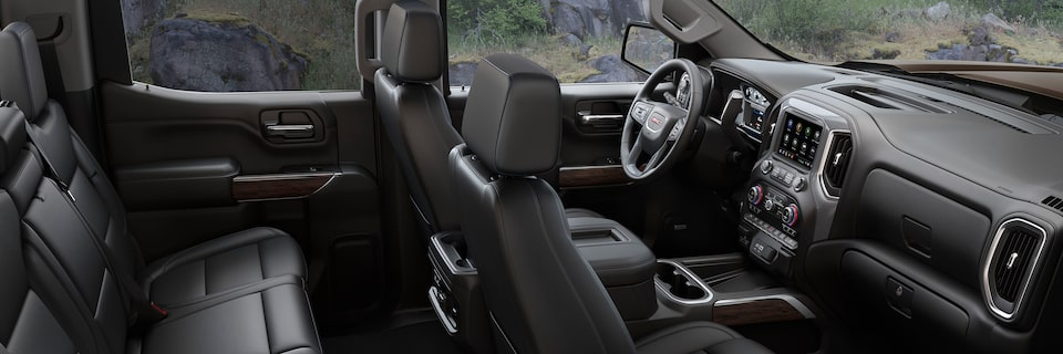 2019 Gmc Sierra 1500 Interior Features Gmc Canada