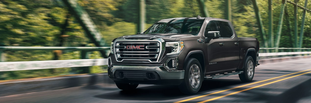 2019 GMC Sierra 1500 light-duty pickup truck.