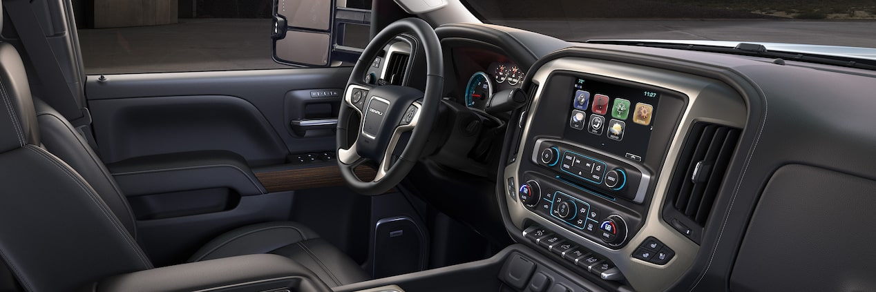 The 2019 GMC Sierra Denali HD offers the technology needed to stay connected and in control.