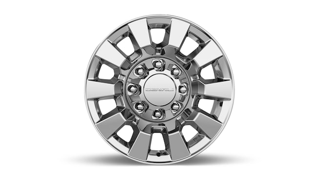 GMC Sierra 2500 Denali HD's available 20-inch chromed aluminum wheels.