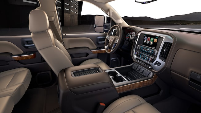 2019 GMC Sierra HD | Interior Features | GMC Canada