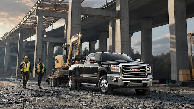 Exterior view of the 2019 Sierra 3500HD.