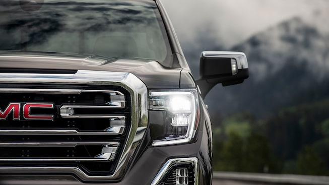 2020 Sierra 1500 Pickup Truck: Exterior LED Headlights.