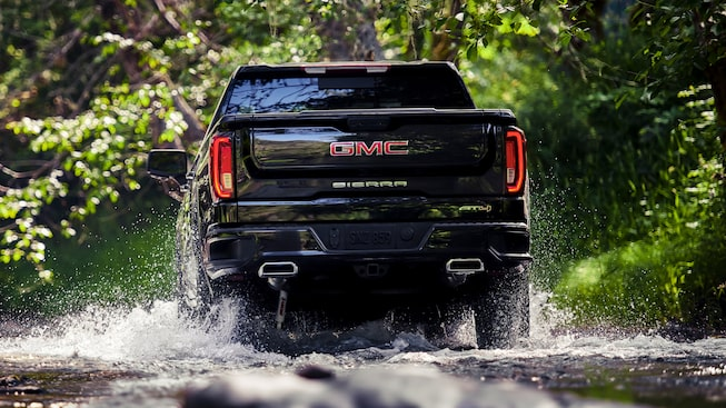 2020 GMC Sierra AT4 Off Road Truck.