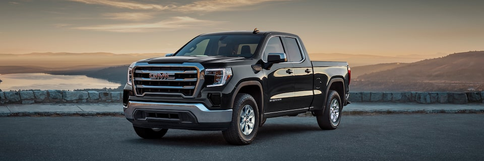 2020 GMC Sierra 1500 Pickup Truck: Exterior Front Angle View.