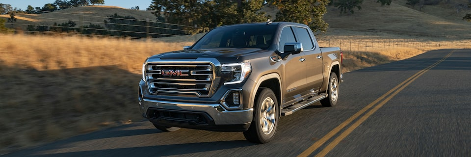 2020 GMC Sierra 1500 Light-Duty Pickup Truck.