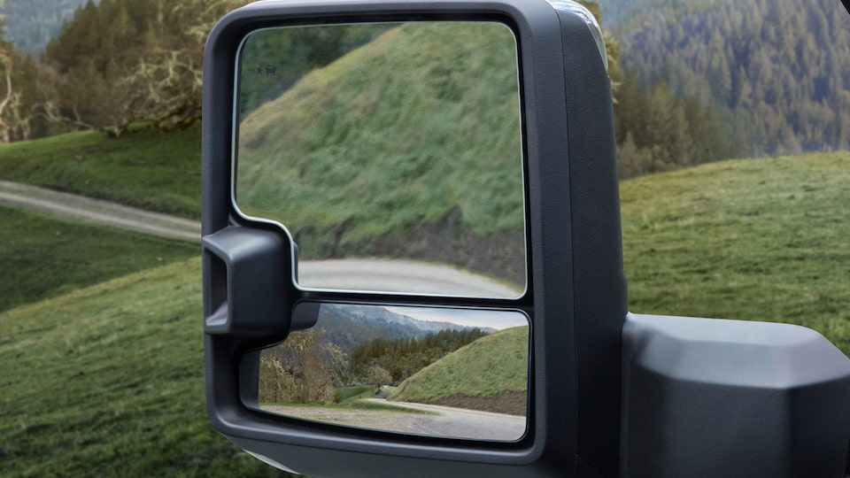 2020 Sierra AT4  Trailer & Blind Spot Mirrors.