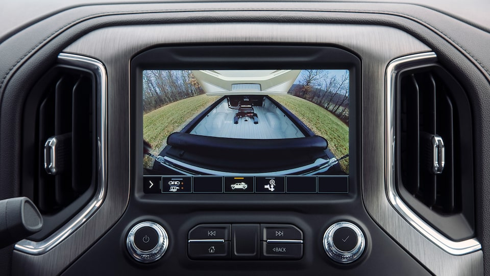 2020 Sierra AT4 Pickup Truck: Bed Camera View.