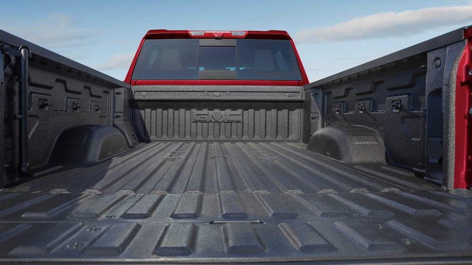 2020 GMC Sierra Heavy Duty Pickup Truck: Cargo Bed Space.