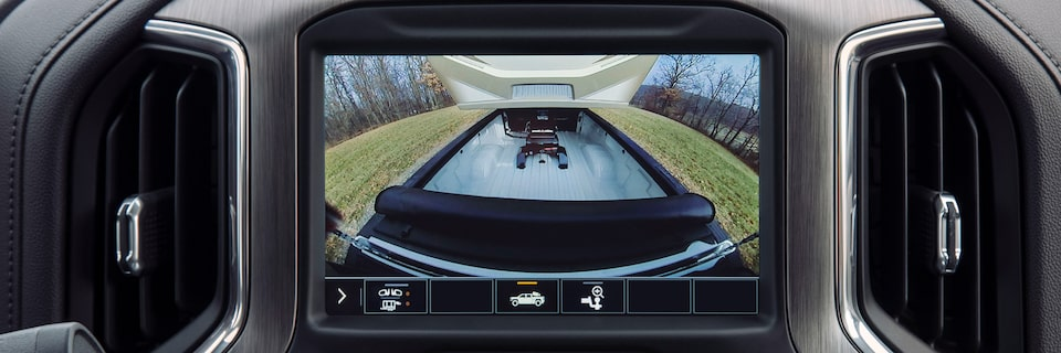 2020 Sierra HD Pickup Truck Bed View Camera.