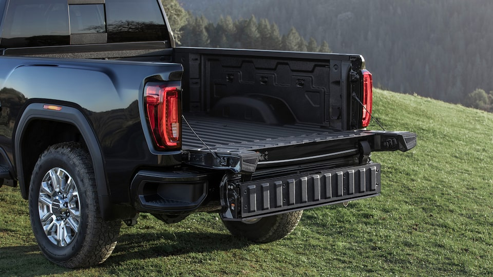 GMC Sierra HD Pickup Truck: Easy Access Tailgate.