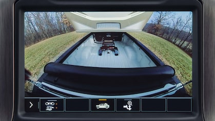 2020 GMC Sierra Heavy Duty's bed view camera.