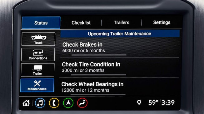The Next Generation GMC Sierra HD's In-Vehicle Trailering App.