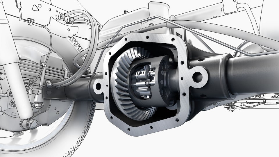 2021 GMC Canyon Locking Differential mechanism.