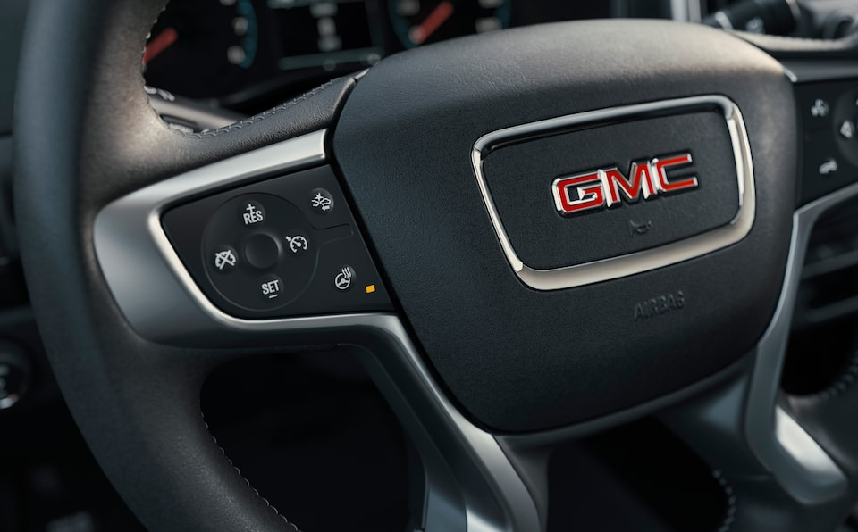 Volant du GMC Canyon 2021.