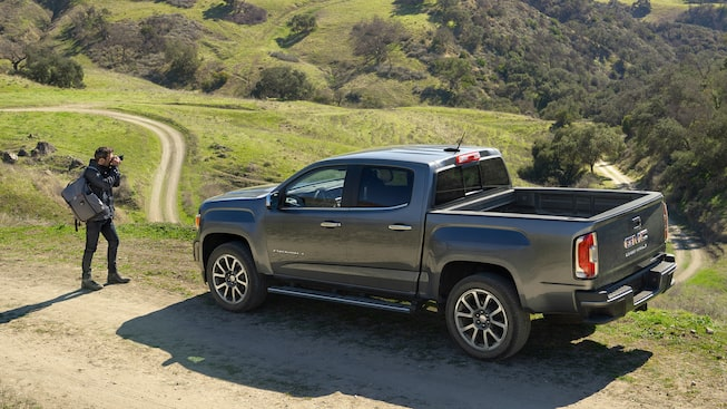 2021 GMC Canyon Denali liftgate.