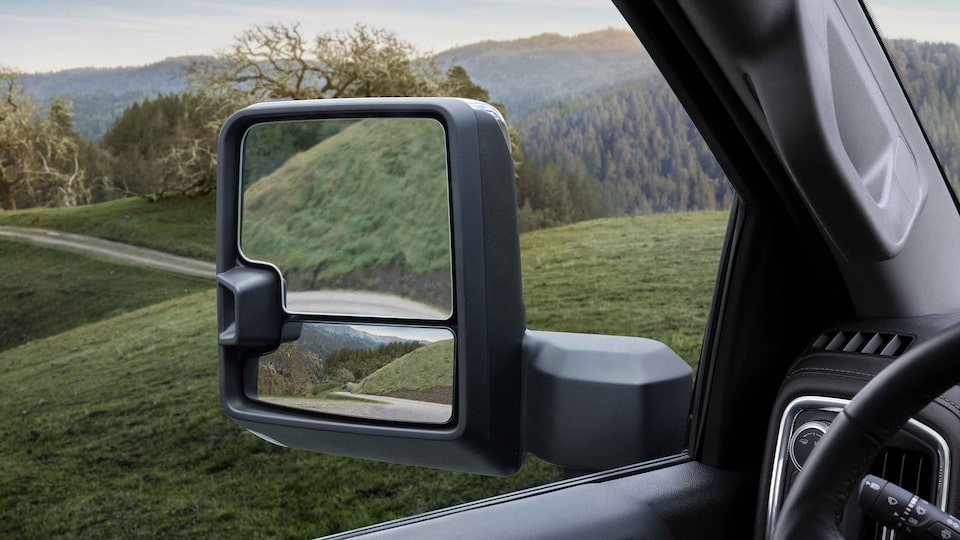 2021 GMC Sierra 1500 side mirror.