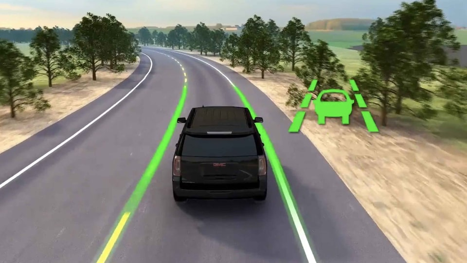 2021 Savana Cargo lane keep assist with lane departure warning.