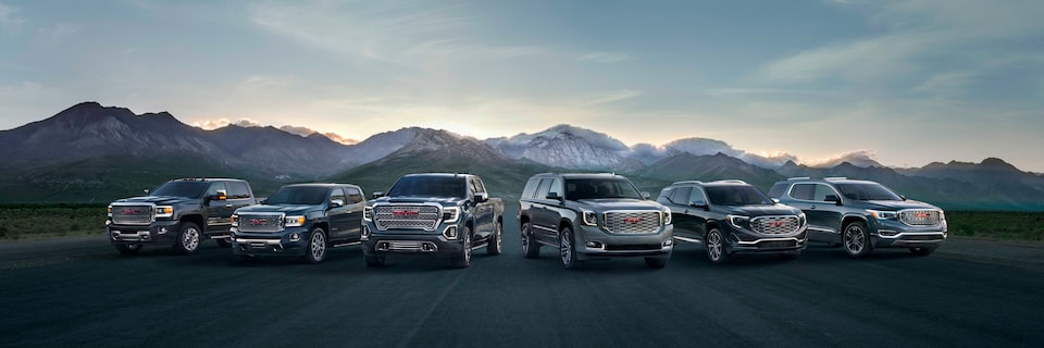 GMC commercial vehicles business lineup.