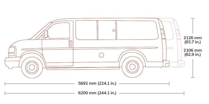 2019 Gmc Savana Passenger Van