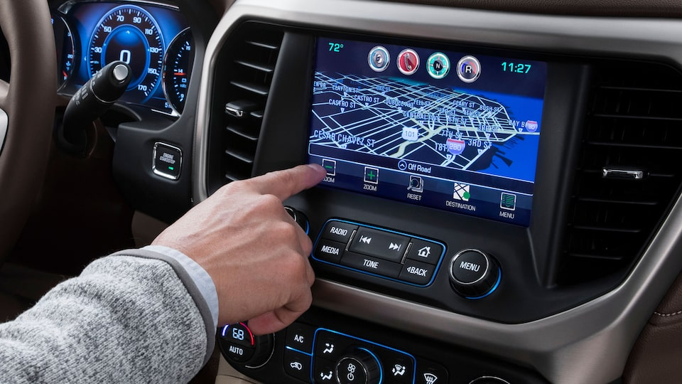 Homepage customization available for 2020 GMC vehicles.