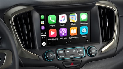 The 2019 GMC vehicles feature Apple CarPlay compatibility.