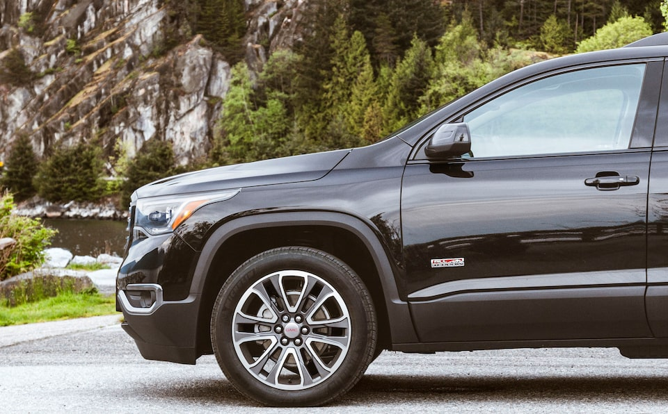 Special Edition Acadia All-Terrain parked outdoors.