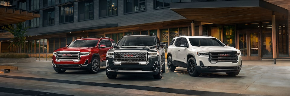2020 GMC Acadia Mid-Size SUV Vehicle Lineup.