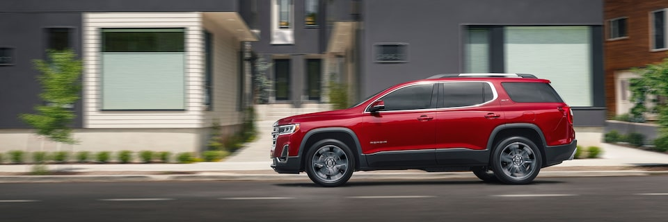 2020 GMC Acadia Profile View.