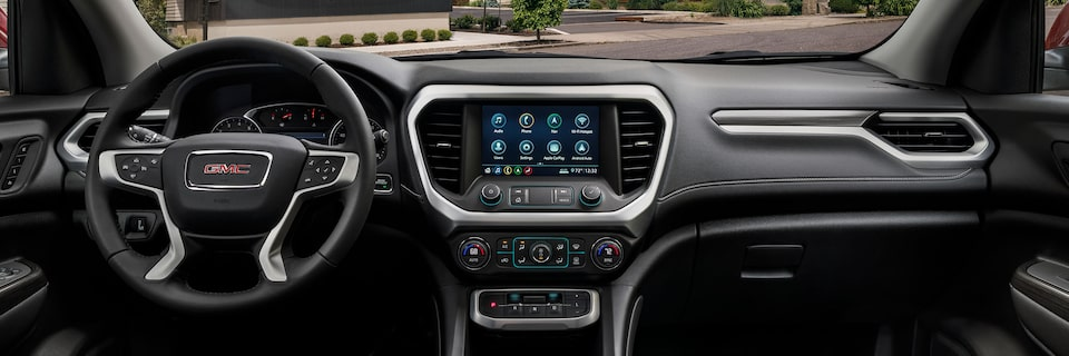 2020 GMC Acadia Interior Dash Panel.