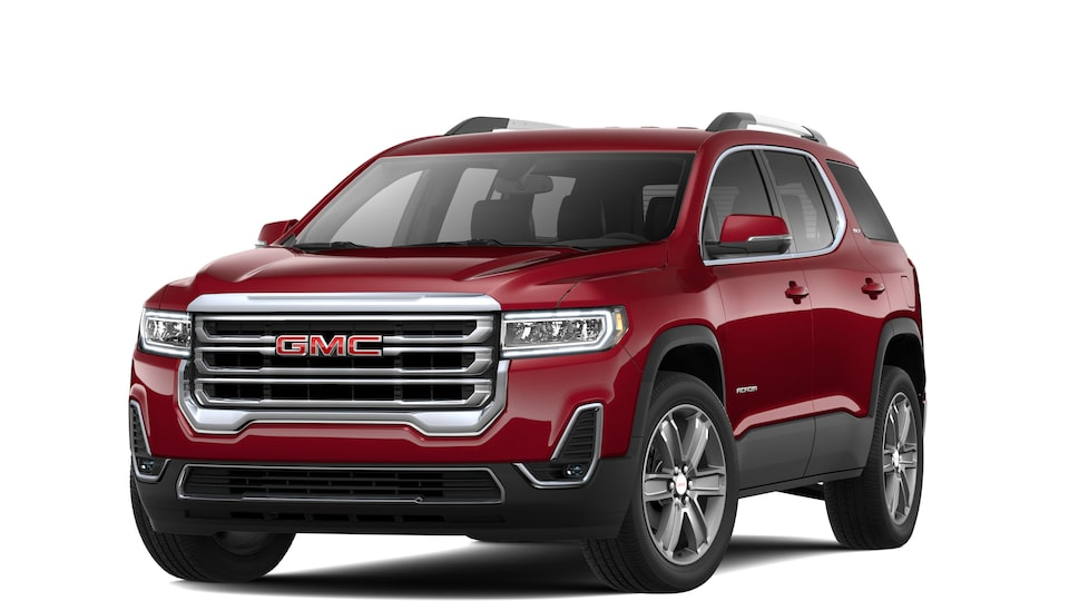 Exterior of the 2020 GMC Acadia SLT.