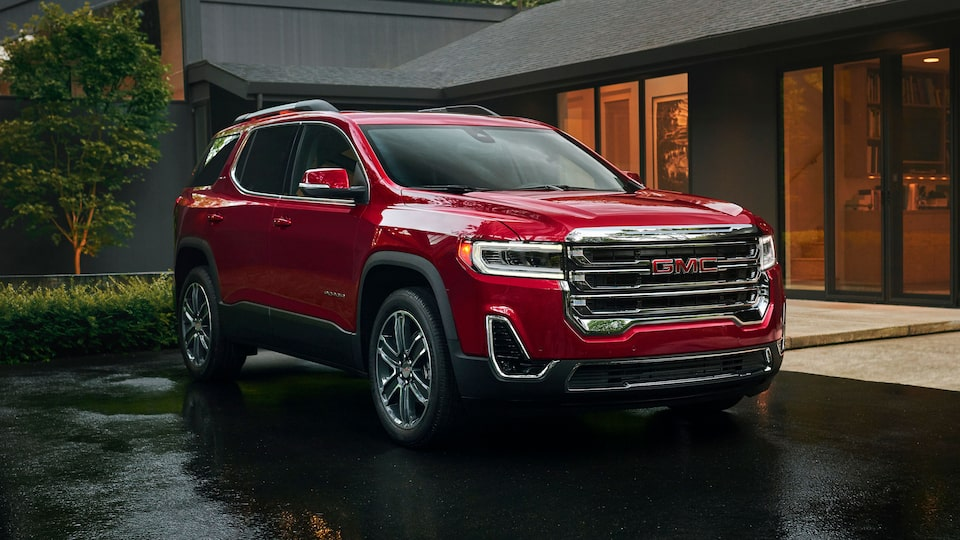 2020 Acadia Mid-Size SUV: Exterior Angle View.