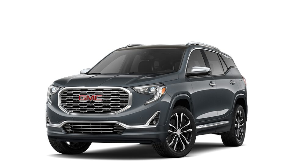 2019 GMC Terrain Denali Graphite Gray Metallic.