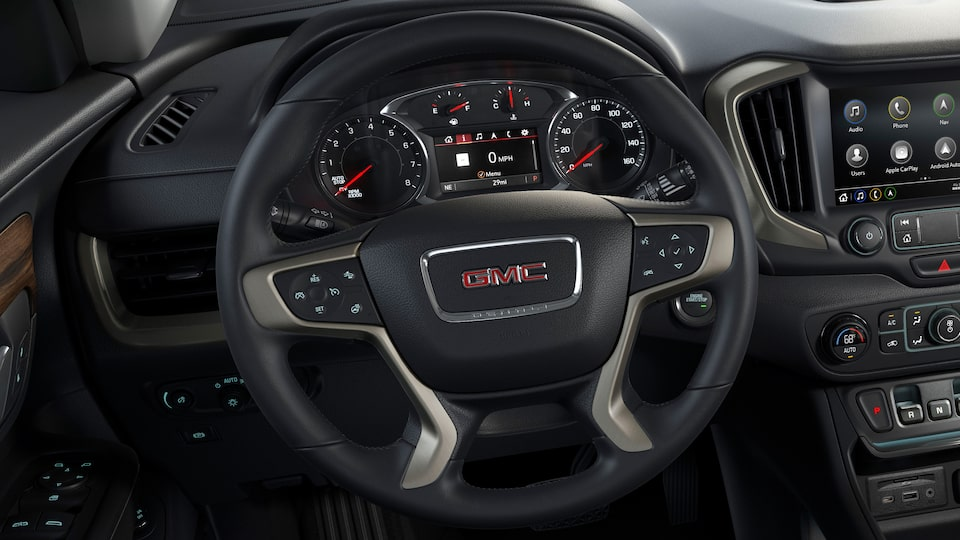 2020 GMC Terrain Denali Steering Wheel.