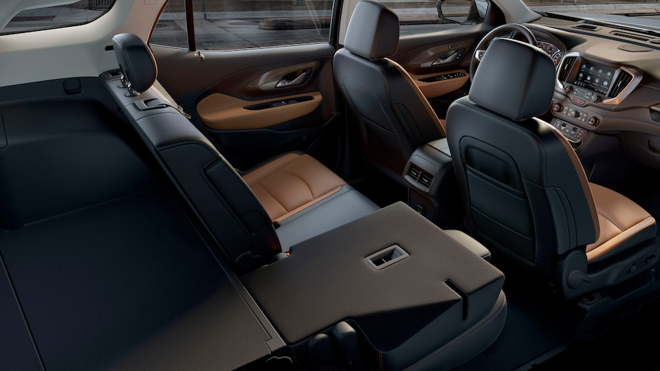 2020 GMC Terrain Interior Shot Back To Front.