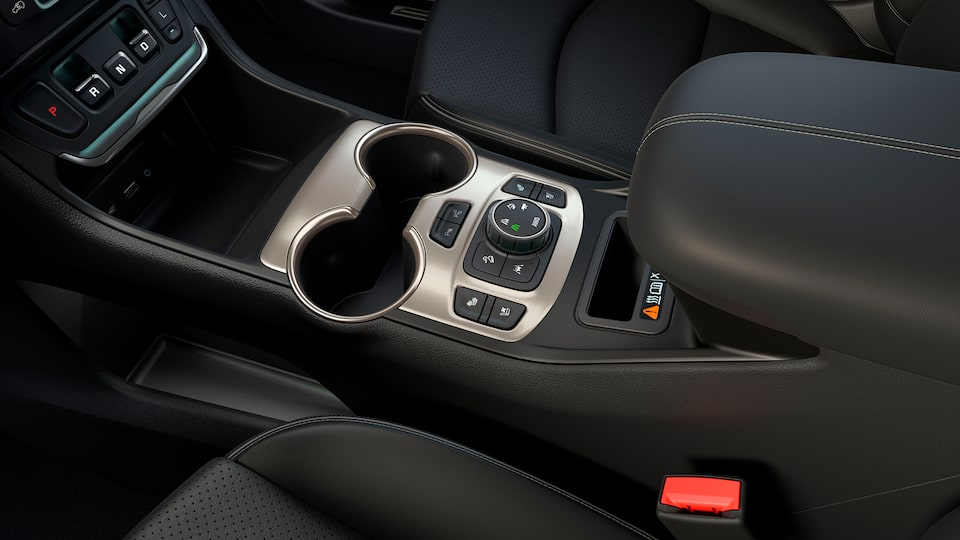 GMC Terrain Denali Interior Precision Shift.