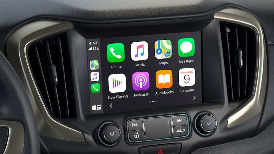 L'application Apple CarPlay du Terrain Denali.