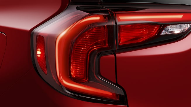 GMC Terrain Denali Exterior Back Light.