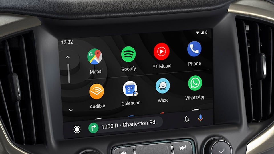 2020 Terrain Interior Technology Android Auto.
