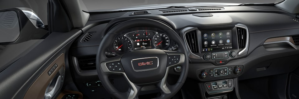 2020 GMC Terrain Interior Technology.