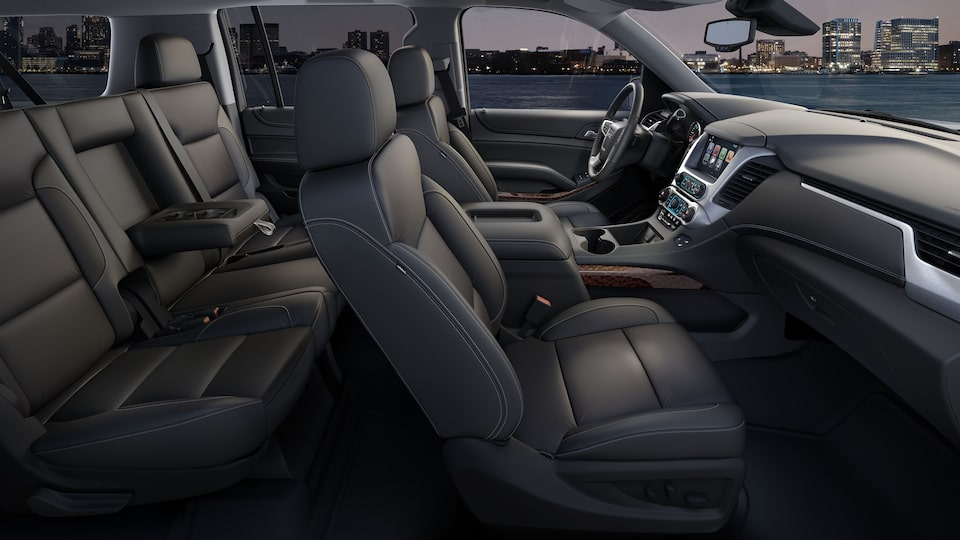 2020 GMC Yukon SLE/SLT full-size SUV Advanced Interior.
