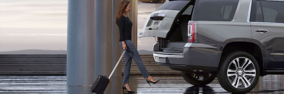 2020 Yukon Denali Full Size SUV Power Liftgate Exterior Feature.