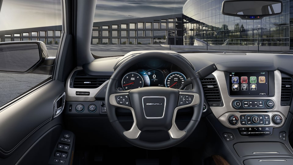 2020 Yukon Denali Full Size SUV Premium Finishes Interior.