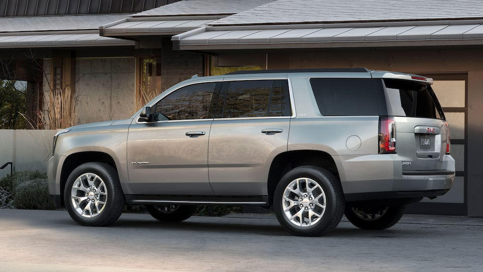 GMC Yukon Capability Features Rear Differential.