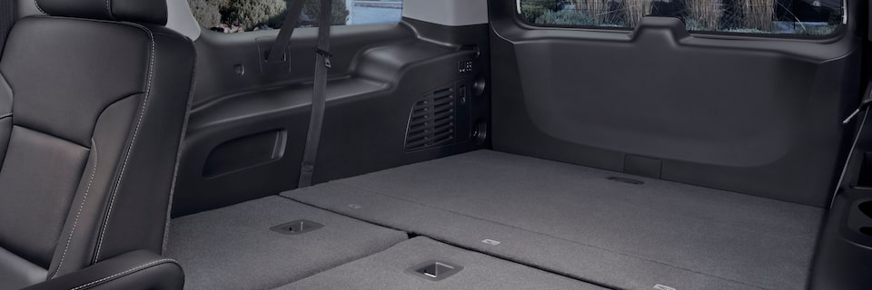 2020 GMC Yukon Interior Features Third Row.